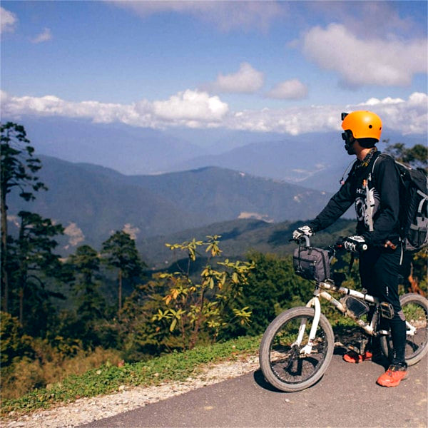 5 days bicycling tour in Bhutan