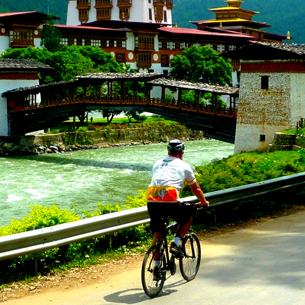 7 days bicycling tour in Bhutan