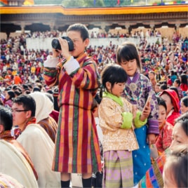 Paro Tshechu Tour Of Bhutan